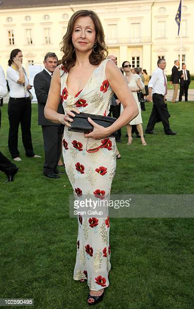 Singer Vicky Leandros attends the President's annual summer garden party hosted by newlyelected German President Christian Wulff and his wife First...