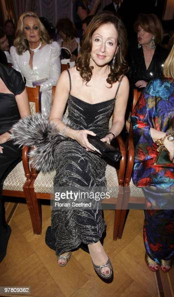 Singer Vicky Leandros attends the Russian Fashion Gala at the Embassy of the Russian Federation on March 17 2010 in Berlin Germany
