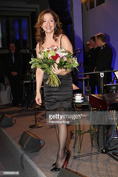 Singer Vicky Leandros during cocktail reception at BMW Golf Cup International 2009 at Hotel Adlon in Berlin