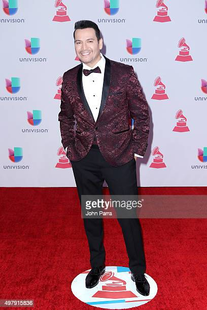Singer Victor Manuelle attends the 16th Latin GRAMMY Awards at the MGM Grand Garden Arena on November 19 2015 in Las Vegas Nevada