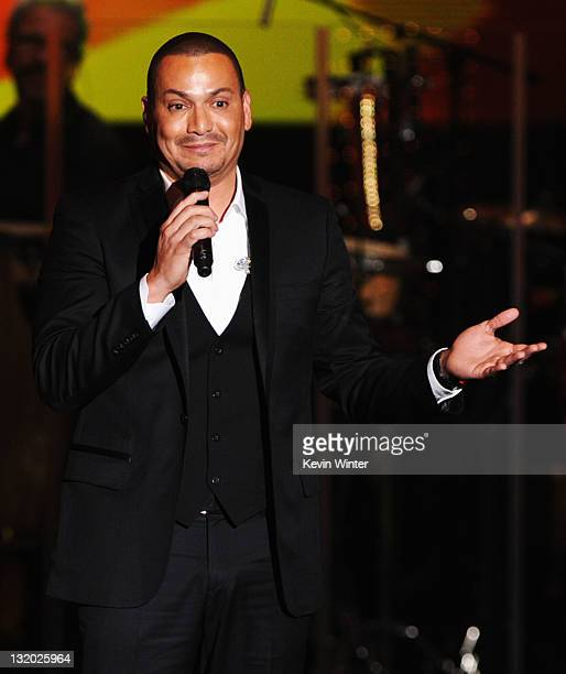 Singer Victor Manuelle performs onstage at the 2011 Latin Recording Academy Person Of The Year Honoring Shakira held at the Mandalay Bay Resort...