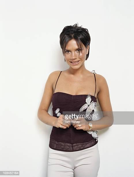 Singer Victoria Beckham aka Posh Spice of English pop group The Spice Girls 2000