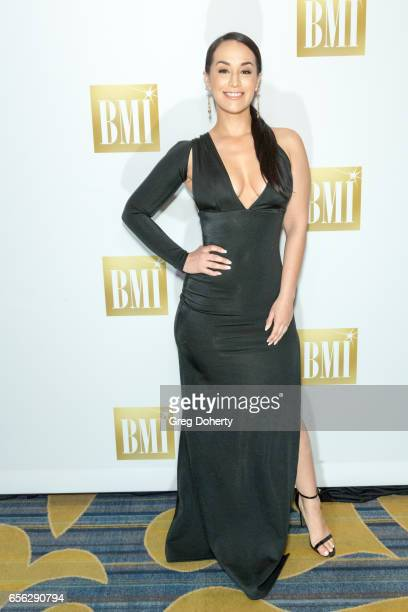 Singer Victoria La Mala Ortiz attends the 24th Annual BMI Latin Awards at the Beverly Wilshire Four Seasons Hotel on March 21 2017 in Beverly Hills...