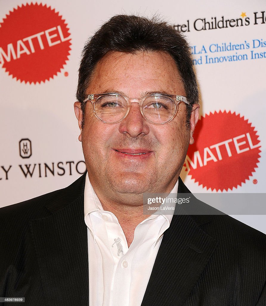 Singer Vince Gill attends the Kaleidoscope Ball at Beverly Hills Hotel on April 10 2014 in Beverly Hills California
