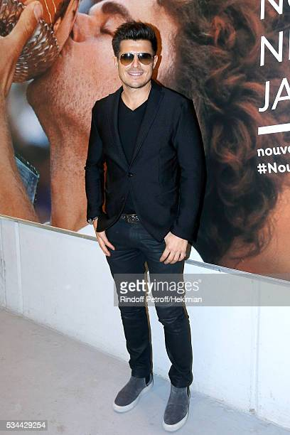 Singer Vincent Niclo attends the 2016 French Tennis Open Day Five at Roland Garros
