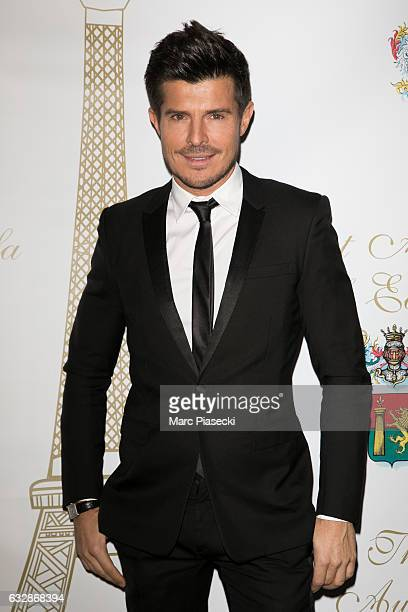 Singer Vincent Niclo attends 'The Best Award Gala 40th Edition' at Four Seasons George V hotel on January 27 2017 in Paris France