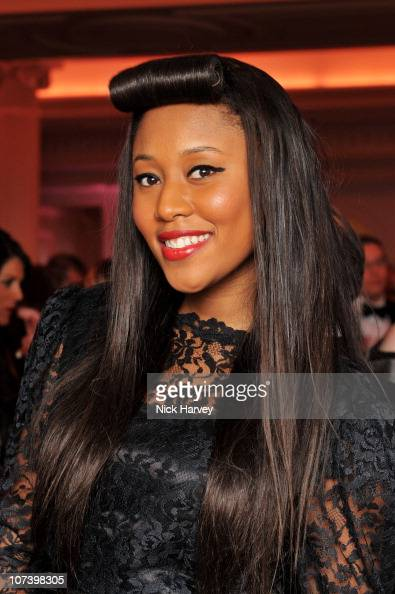 Singer VV Brown attends the British Fashion Awards 2010 at The Savoy Theatre on December 7 2010 in London England
