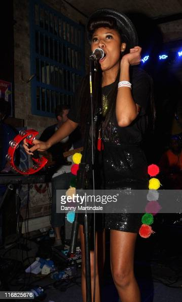 Singer VV Brown performs at The Cuban Bar as part of the Gaymers Camden Crawl 2009 on April 24 2009 in London England