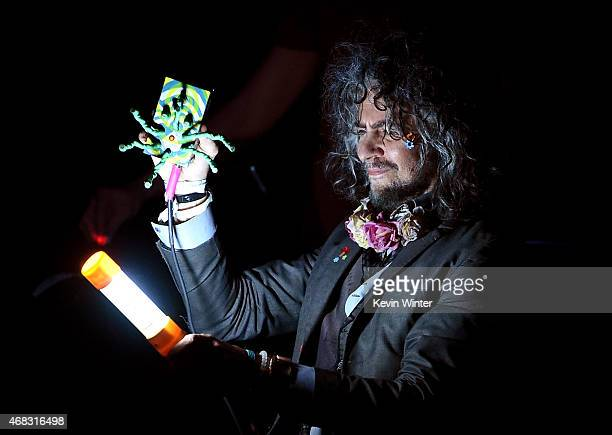 Singer Wayne Coyne of The Flaming Lips performs onstage during the David Lynch Foundation's DLF Live presents 'The Music Of David Lynch' at The...
