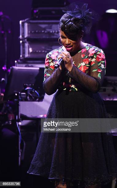 Singer We McDonald performs during the Apollo Spring Gala 2017 at The Apollo Theater on June 12 2017 in New York City