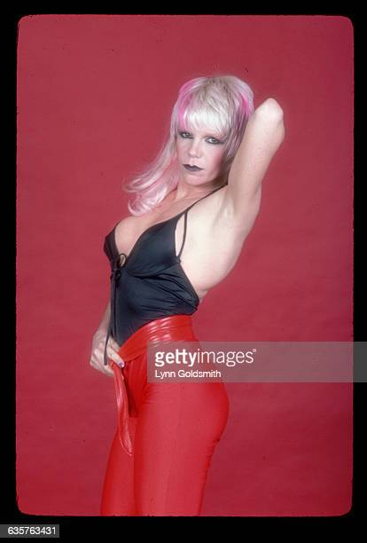 Singer Wendy O Williams of the punk group The Plasmatics is infamous for her violent and sexually outrageous performances