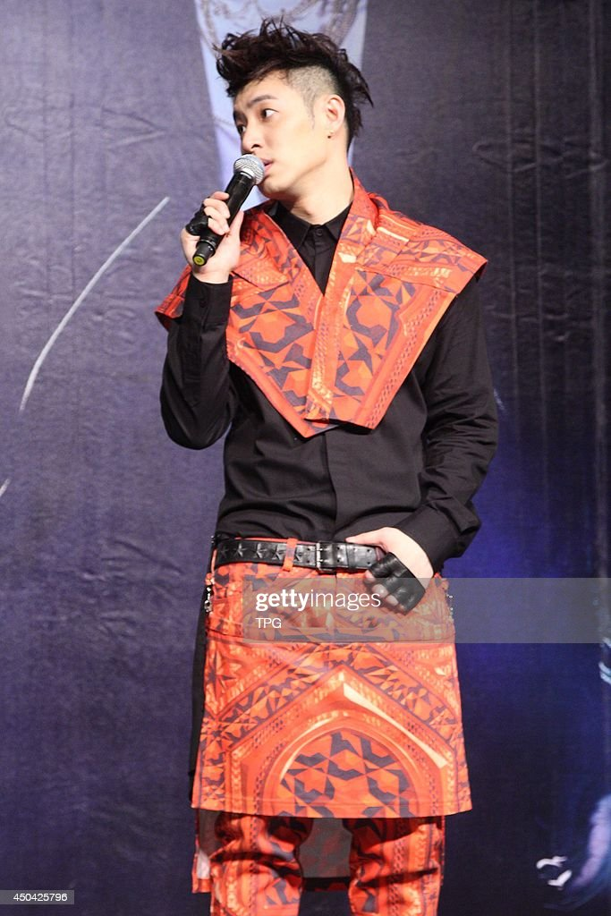 Singer Wilber Pan attends his new album launch on Monday June 9,2014 in Taipei,China.