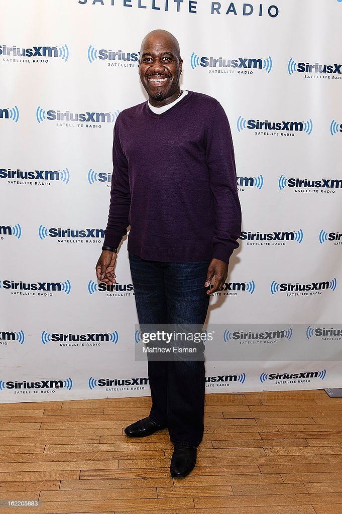 Singer Will Downing visits SiriusXM Studios on February 20, 2013 in New York City.