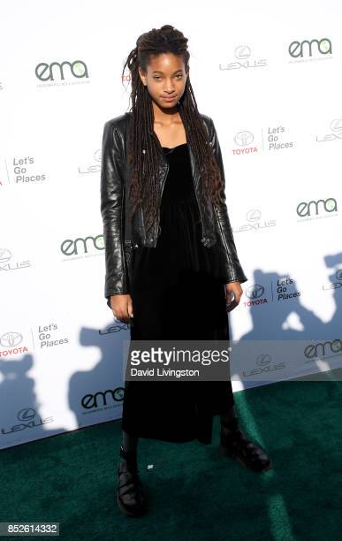 Singer Willow Smith attends the 27th Annual EMA Awards at Barker Hangar on September 23 2017 in Santa Monica California