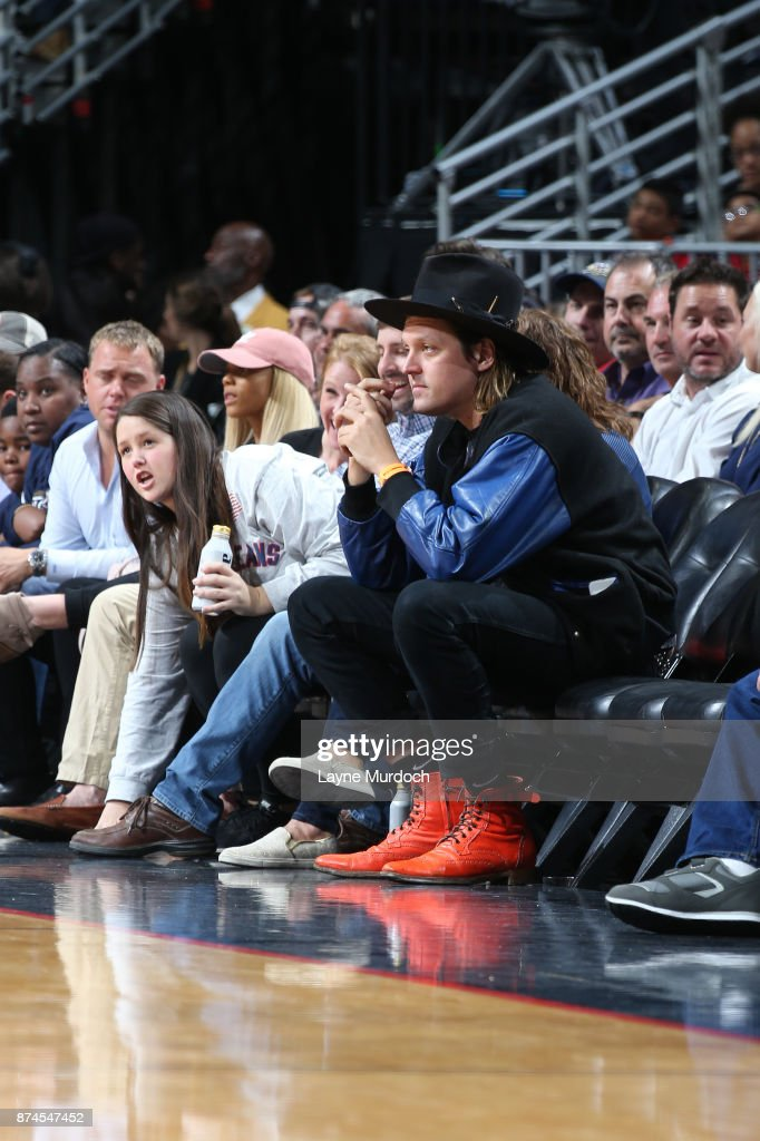 Singer, Win Butler attends the Atlanta Hawks game against the New Orleans Pelicans on November 13, 2017 at Smoothie King Center in New Orleans, Louisiana.