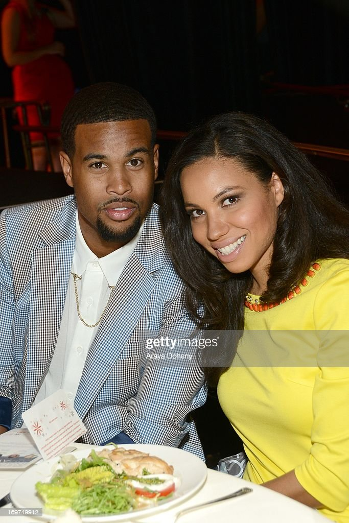 Singer, writer & producer Josiah Bell and actress <a gi-track='captionPersonalityLinkClicked' href=/galleries/search?phrase=Jurnee+Smollett&family=editorial&specificpeople=614220 ng-click='$event.stopPropagation()'>Jurnee Smollett</a> attends Step Up Women's Network 10th annual Inspiration Awards at The Beverly Hilton Hotel on May 31, 2013 in Beverly Hills, California.