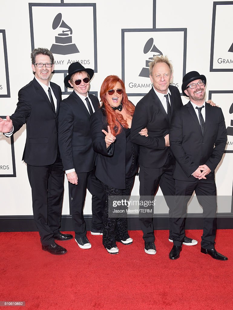 Singer Wynonna Judd and The Big Noise attend The 58th GRAMMY Awards at Staples Center on February 15 2016 in Los Angeles California