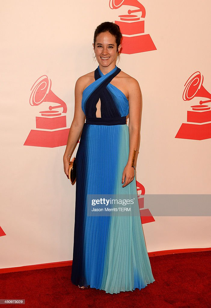 Singer Ximena Sariñana arrives at the 2013 Latin Recording Academy Person Of The Year honoring Miguel Bose at the Mandalay Bay Convention Center on November 20, 2013 in Las Vegas, Nevada.