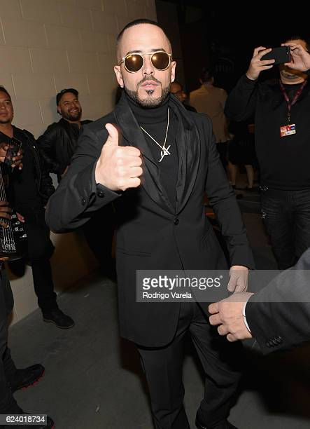 Singer Yandel attends The 17th Annual Latin Grammy Awards at TMobile Arena on November 17 2016 in Las Vegas Nevada
