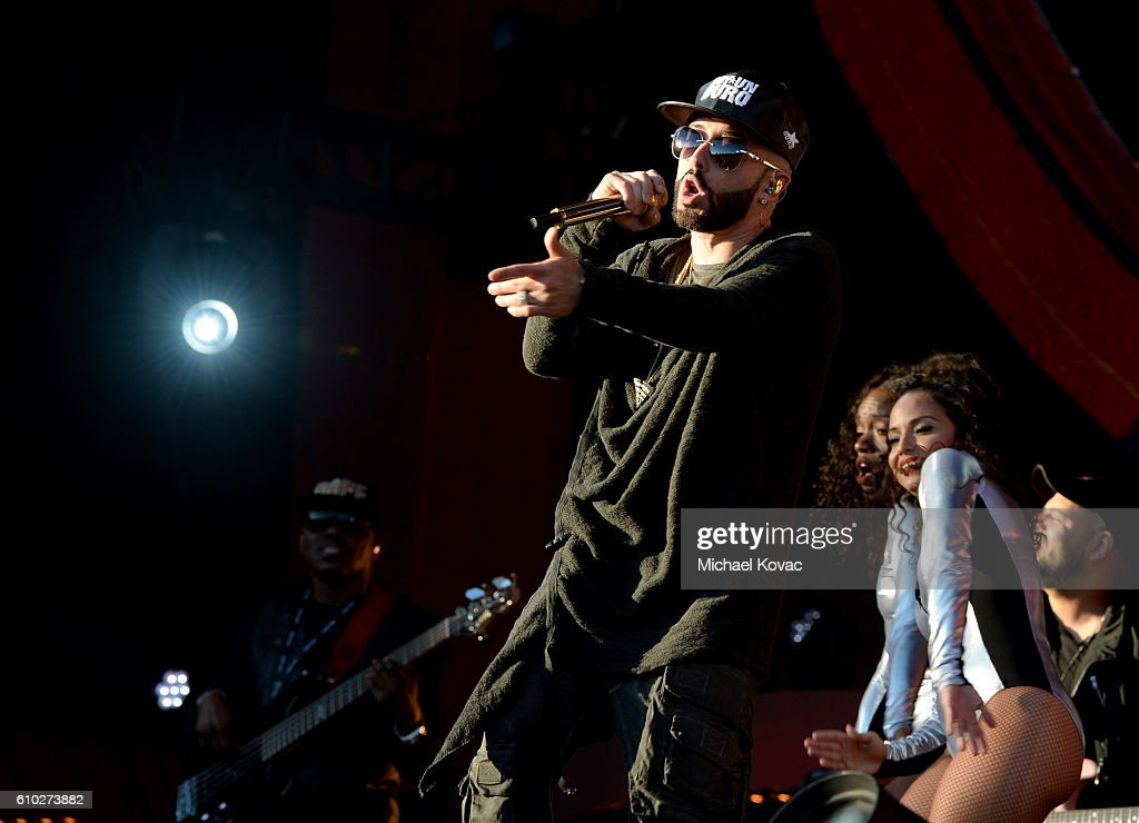 Singer Yandel performs onstage at the 2016 Global Citizen Festival in Central Park To End Extreme Poverty By 2030 at Central Park on September 24, 2016 in New York City.