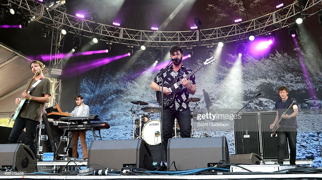 Singer Yannis Philippakis of the band Foals performs onstage during Outside Lands Festival at Golden Gate Park on August 5 2016 in San Francisco...