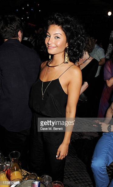 Singer Yasmin attends the Red Bull Music Academy 4th of July party at The Box Soho on July 4 2013 in London England
