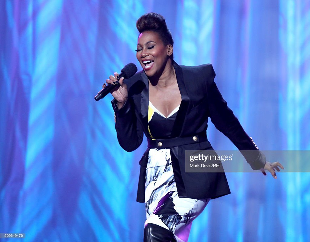 Singer Yolanda Adams performs onstage during BET Celebration Of Gospel 2016 at Orpheum Theatre on January 9 2016 in Los Angeles California