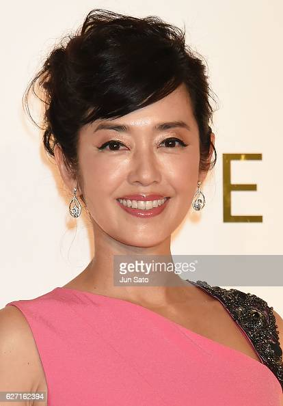 Singer Yu Hayami attends the photo call during the Escada 2017 S/S Runway at the Grand Hyatt Hotel on December 2 2016 in Tokyo Japan