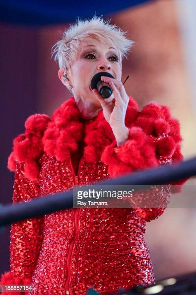 Singer Yuri performs at the New Year's Eve 2013 in Times Square on December 31 2012 in New York City