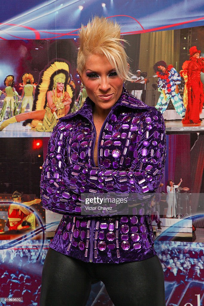 Singer Yuri poses during the launch of her new album 'El Concierto' at The St Regis on October 19 2009 in Mexico City Mexico