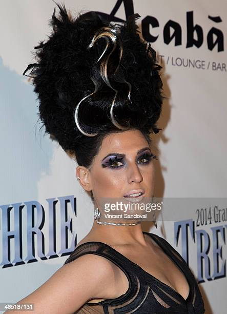 Singer Z LaLa attends the PreGrammy Celebration Party for Trevor Guthrie on January 25 2014 in Los Angeles California