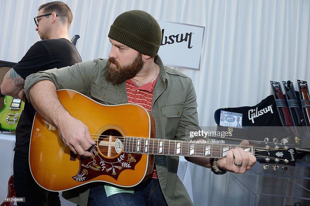 Singer Zac Brown of the Zac Brown Band attends the GRAMMY Gift Lounge during the 55th Annual GRAMMY Awards at STAPLES Center on February 9, 2013 in Los Angeles, California.