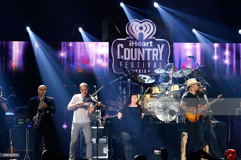 Singer Zac Brown (R) of Zac Brown Band performs onstage during the 2016 iHeartCountry Festival at The Frank Erwin Center on April 30, 2016 in Austin, Texas.