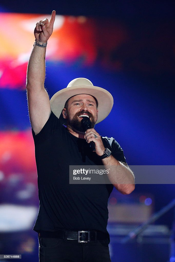 Singer Zac Brown speaks onstage during the 2016 iHeartCountry Festival at The Frank Erwin Center on April 30, 2016 in Austin, Texas.