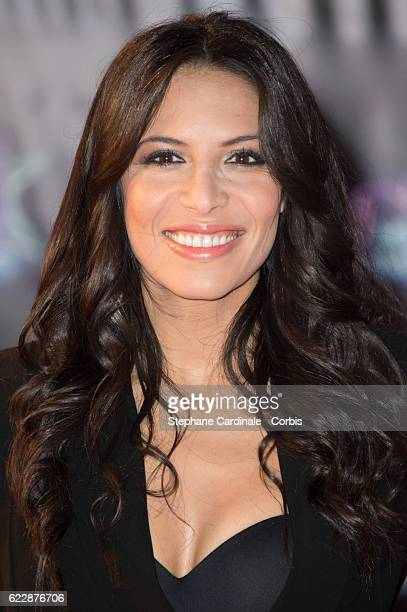 Singer Zahera Darabid aka Zaho attends the 18th NRJ Music Awards at Palais des Festivals on November 12 2016 in Cannes France