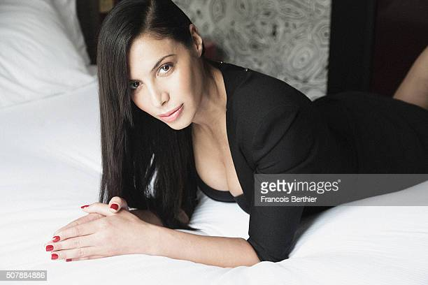 Singer Zaho is photographed for Self Assignment on April 29 2015 in Paris France