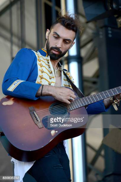 Singer Zambricki Li of Magic Giant performs onstage during the Alt 987 Summer Camp concert at Queen Mary Events Park on August 19 2017 in Long Beach...