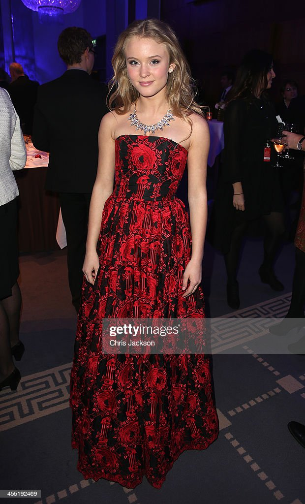 Singer Zara Larsson at a reception after the 20th annual Nobel Peace Prize Concert on Wednesday, December 11th at the Radisson Blu Plaza Hotel in Oslo, Norway.