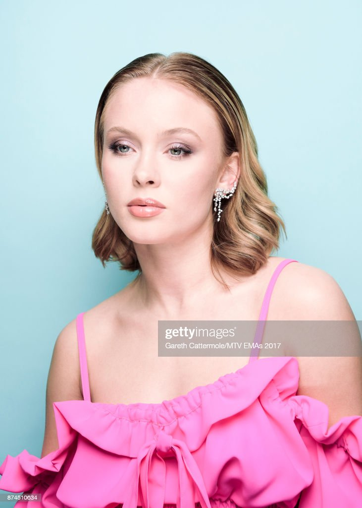 Singer Zara Larsson poses in the Studio during the MTV EMAs 2017 held at The SSE Arena, Wembley on November 12, 2017 in London, England.