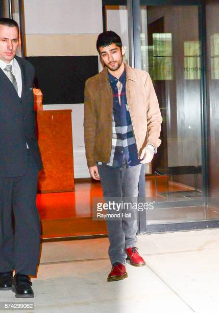 Singer Zayn is seen walking in Soho on November 14 2017 in New York City