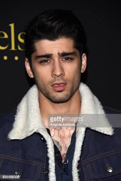 Singer Zayn Malik arrives at the 2017 Billboard Power 100 party at Cecconi's on February 9 2017 in West Hollywood California