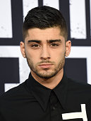 Singer Zayn Malik arrives at the world premiere of Universal Pictures and Legendary Pictures' 'Straight Outta Compton' at the Microsoft Theater on...