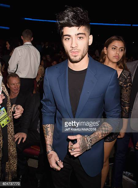 Singer Zayn Malik attends the 2016 American Music Awards at Microsoft Theater on November 20 2016 in Los Angeles California