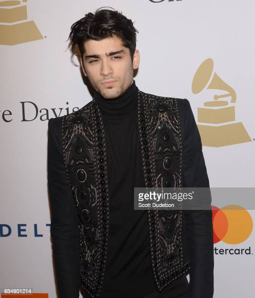 Singer Zayn Malik attends the 2017 PreGRAMMY Gala And Salute to Industry Icons Honoring Debra Lee at The Beverly Hilton Hotel on February 11 2017 in...