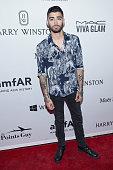 Singer Zayn Malik attends the 7th Annual amfAR Inspiration Gala at Skylight at Moynihan Station on June 9 2016 in New York City