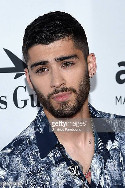 Singer Zayn Malik attends the 7th Annual amfAR Inspiration Gala New York at Skylight at Moynihan Station on June 9 2016 in New York City