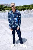Singer Zayn Malik attends the Louis Vuitton Menswear Spring/Summer 2016 show as part of Paris Fashion Week on June 25 2015 in Paris France