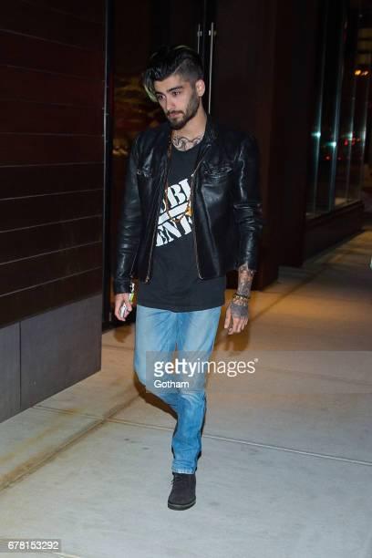Singer Zayn Malik is seen in NoHo on May 3 2017 in New York City