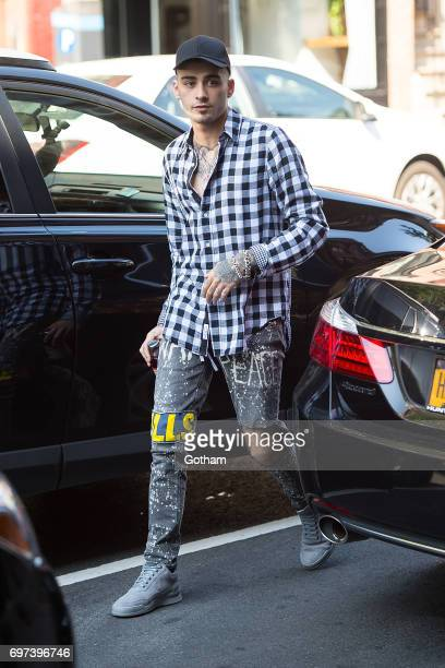 Singer Zayn Malik is seen in the West Village on June 18 2017 in New York City