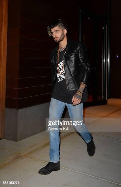 Singer Zayn Malik is seen walking in Soho on May 3 2017 in New York City